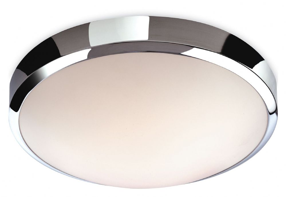 Firstlight 2343CH Chrome with White Polycarbonate Diffuser Toro LED Flush Fitting
